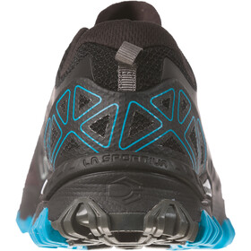 La Sportiva Bushido II Juoksukengät Miehet, black/tropic blue